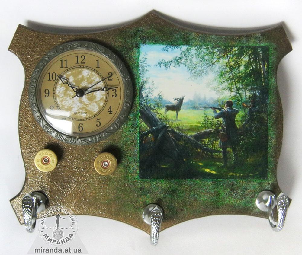 Подарок для рыбака часы 29