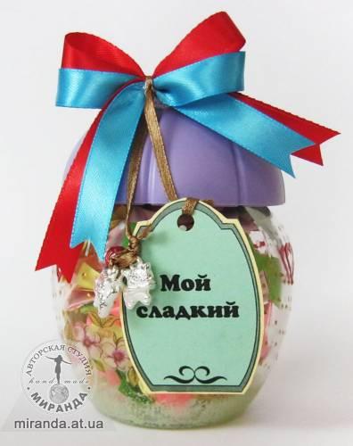 """Сахарница """"Мой сладкий"""" (2)"""